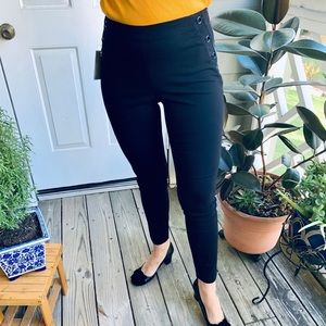 Michael Kors Skinny Black Pants Stretch Small W 29